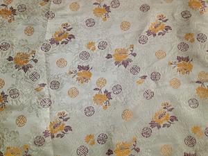 【织锦缎】装帧布 包装布 色织提花布 小团花 中国风
