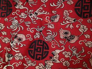 【织锦缎】装帧布 包装布 色织提花布 小团花