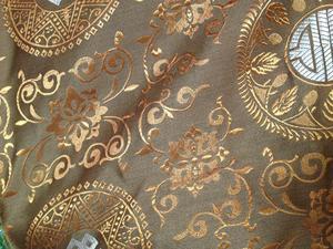 【织锦缎】装帧布 包装布 色织提花布 团花 中国风