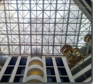 ETFE 建筑棚领域应用