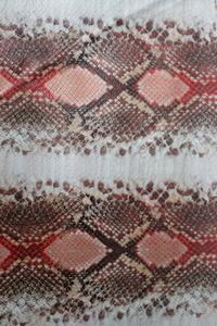 蛇纹PU革