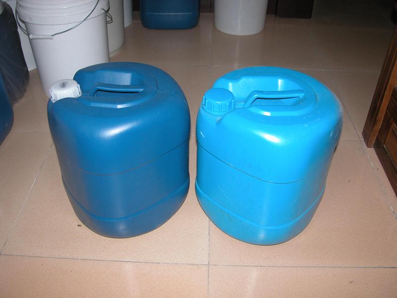 20公斤塑料桶 化工桶 助焊剂塑料桶20l蓝色化工桶