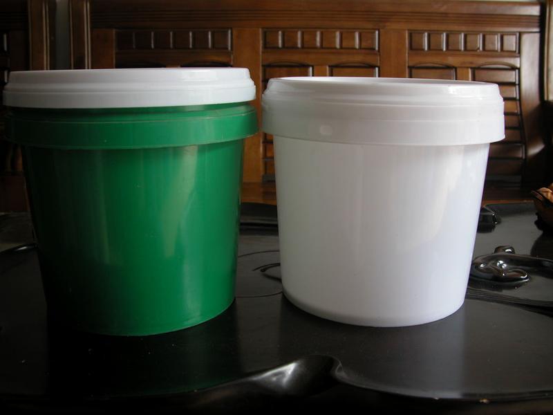 5l塑料桶5升涂料桶5公斤油墨桶5kg塑胶桶5l圆桶