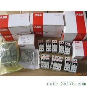 供应ABB小型断路器  断路器开关ABBS261
