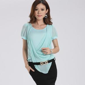 尤加迪曼2013夏装新款包臀雪纺连衣裙(含腰带)63305