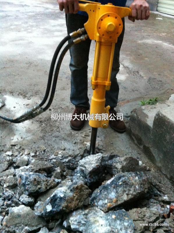 路面破除器厂家供应液压镐厂家 博大液压镐 品质保图片