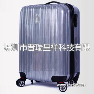 韩国拉杆箱ABS旅行箱包PC行李箱子万向轮20寸男女大图一