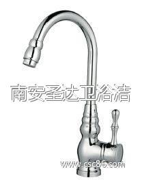 【洁具】优质全铜 厨房水龙头 电镀精良 混水龙头 可贴牌加工