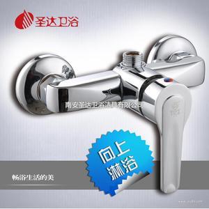 水龙头厂家直销 单把两联淋浴器  进口阀芯 洁具批发