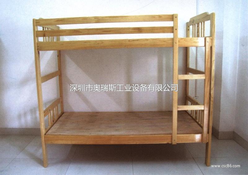 供应儿童双层木床 纯手工实木制造