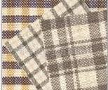 供应纯苎麻色织布