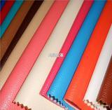供应仿皮荔枝纹皮革/拉毛底人造革各种箱包皮带革