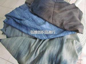 5安洗水扎花牛仔布 深圳牛仔布供应商