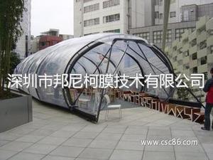ETFE   透明采光利用与建筑