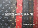 印花PVC 皮革面料 印刷革 仿皮 箱包革 手袋革