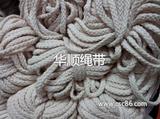 厂家批发。本白色全棉绳子6*8八股棉绳