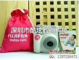 富士 拍立得相机 相机+包+相纸 粉色套餐