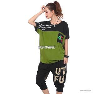 外贸库存服装尾货外贸女装T恤宽松T恤秋装长袖T恤品牌杂款