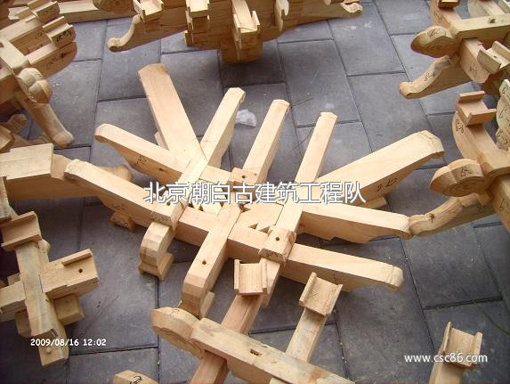 古建筑木结构木工施工队