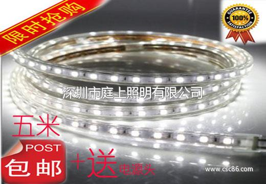 LED灯带 超亮防水5050灯珠灯带 LED节能软大图一