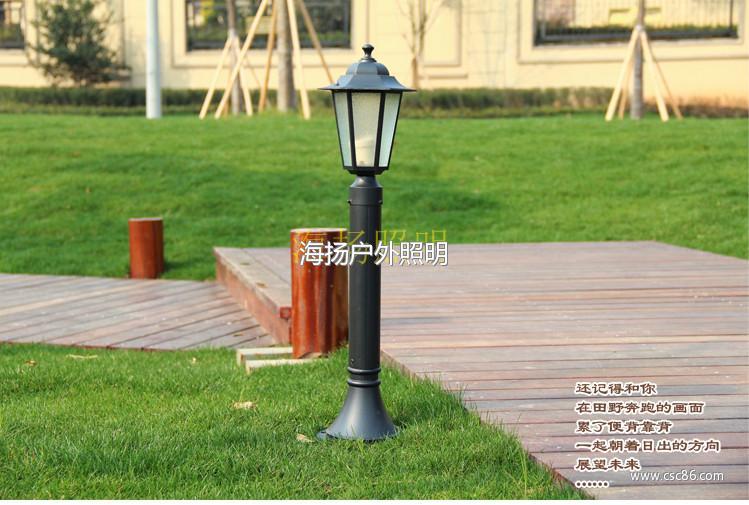 庭院灯花园灯道路灯户外灯欧式防水led立柱