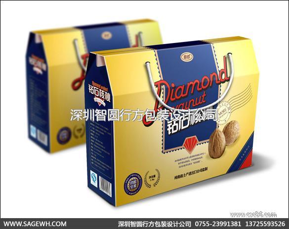 深圳坚果包装设计|核桃包装设计|核桃包装设计