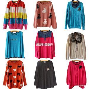 秋装日韩毛衣 欧美毛衣 女装毛衣外套 热销正品品牌毛衣外套