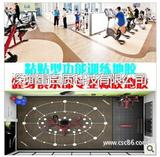PT健身工厂功能训练橡胶地板地胶