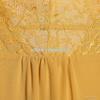 尤加迪曼2013秋装新款圆领蕾丝雪纺长袖连衣裙62285小图三