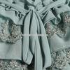 尤加迪曼2013秋装新款圆领蕾丝大码百搭长袖雪纺衫62286小图四