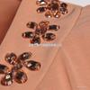 尤加迪曼2013秋装新款圆领蕾丝边长袖雪纺衫62275小图三