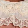 尤加迪曼2013秋装新款蕾丝边娃娃领收褶长袖雪纺衫62278小图三