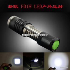 t6大功率旋转变焦手电筒 五档变焦铝合金led强光手电筒