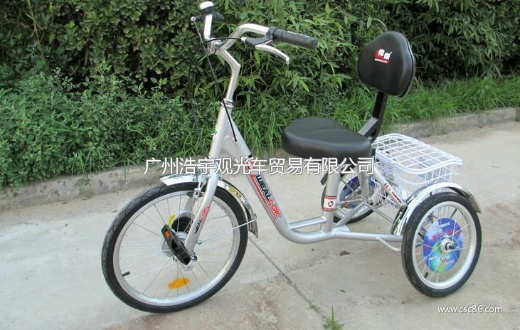 供应老年自行车伟乐单排老年人保健自行车 代步车 三轮车 高清图片