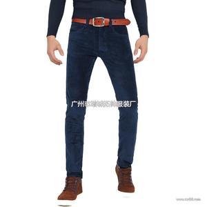 2013新款 精品休闲裤子男式灯芯绒裤 一件代发