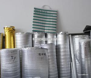 保温棉,隔热棉,珍珠棉覆铝膜