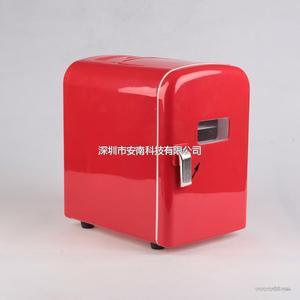 安南4L冷热两用时尚迷你小冰箱户外必备