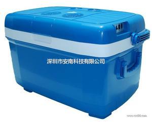 安南车载冰箱45L升电子冰箱家车两用冷热箱汽车冰箱