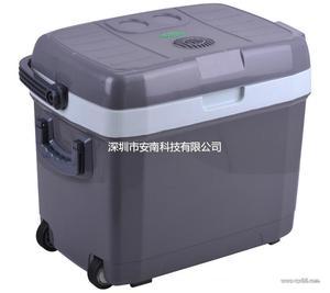安南40L车载冰箱车家两用迷你家用小型冰箱冷冻冷藏