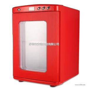 供应25L静音家用车用车载电子小冰箱 冷热冰箱