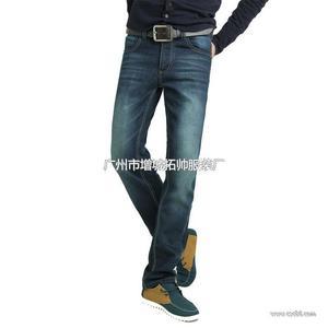 2013冬装新款 加绒保暖牛仔裤 修身加厚男长裤 批发代理