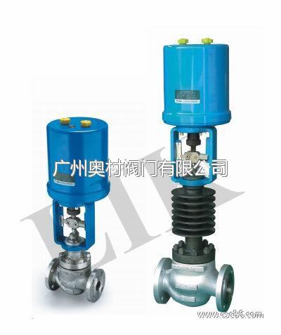进口高温蒸汽电动调节阀|进口蒸汽流量控制阀图片
