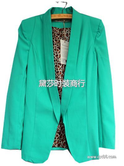 29元最便宜的外贸品牌杂款库存尾货韩版女式西装外套大图一