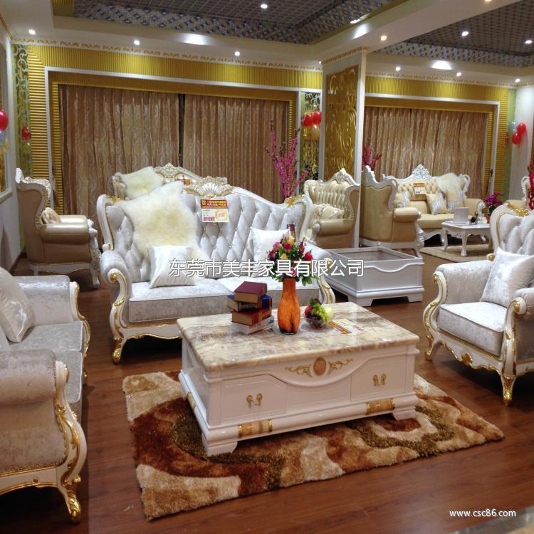 欧式时尚,布艺大沙发f18