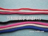 涤纶丝织绳子 尼龙圆绳