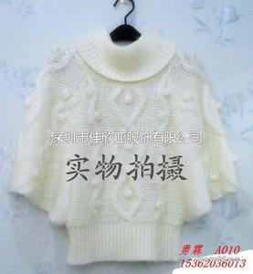 女装新潮蝙蝠毛衣 针织衫