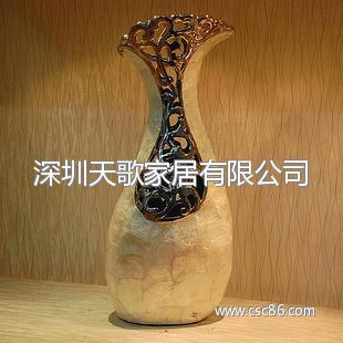 花瓶后现代时尚客厅落地摆件欧式陶瓷家居客厅饰品