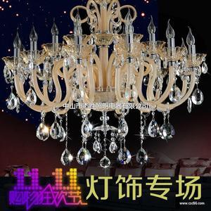 新款欧式水晶灯吊灯 客厅灯吊灯