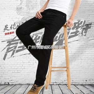 levi`s 牛仔品牌 男牛仔裤 修身黑色牛仔男长裤