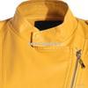 2013冬装新款欧美中高领纯色长袖皮质大码女装外套A5235小图三
